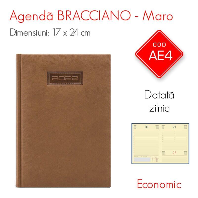 Agenda Economica BRACCIANO Maro 17 x 24 Datata Zilnic