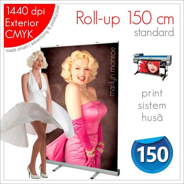 Roll-up 150 x 200 cm Standard - Magazin Online - Mads Smart