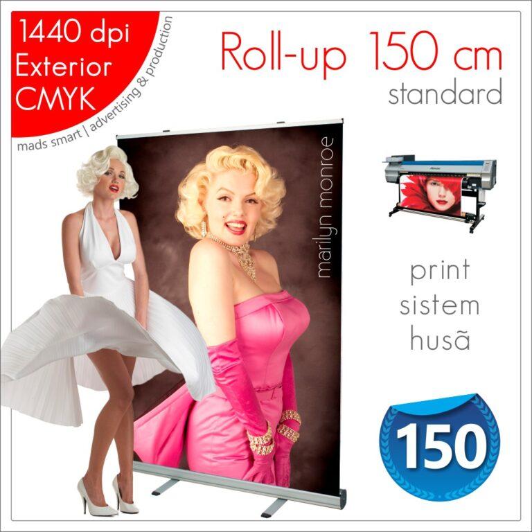 Roll-up 150 x 200 cm Standard – Magazin Online – Mads Smart