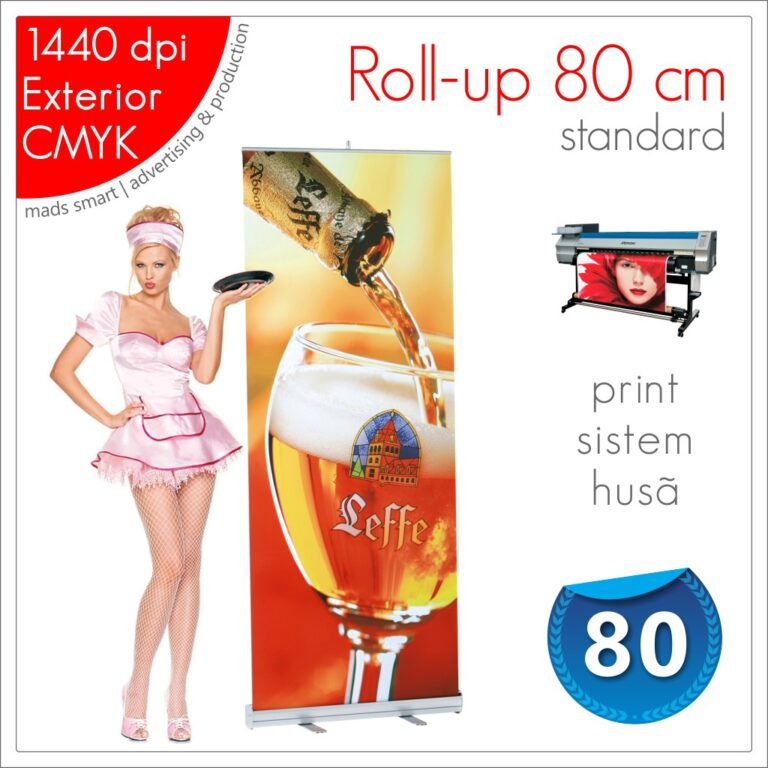Roll-up 80 x 200 cm Standard – Magazin Online – Mads Smart