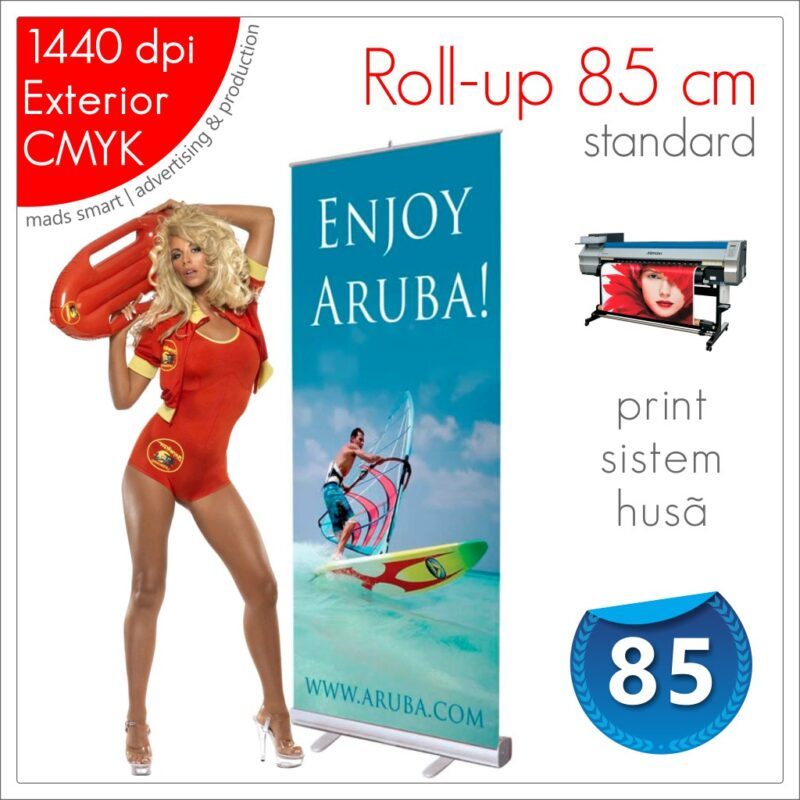 Roll-up 85 x 200 cm Standard - Magazin Online - Mads Smart